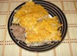Картофель, запеченный с мясом