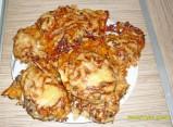 Запеченная свинина с грибами